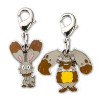 Image for Bunnelby and Diggersby Pokémon Minis (Evo 2 Pack) from Pokemon Center