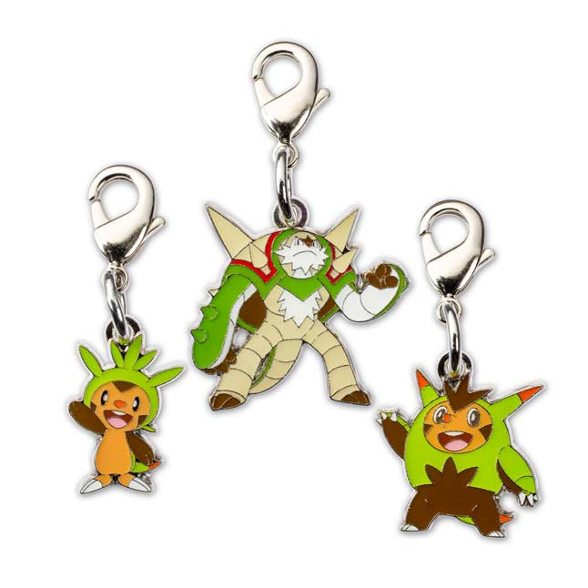 Image for Chespin Quilladin Chesnaught Pokémon Minis (Evo 3 Pack) from Pokemon Center