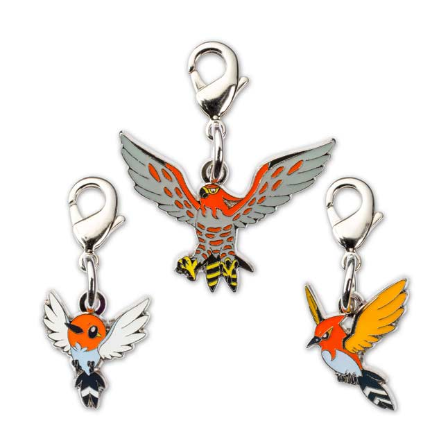 Image for Fletchling Fletchinder Talonflame Pokémon Minis (Evo 3 Pack) from Pokemon Center