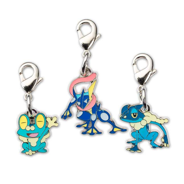 Image for Froakie Frogadier Greninja Pokémon Minis (Evo 3 Pack) from Pokemon Center