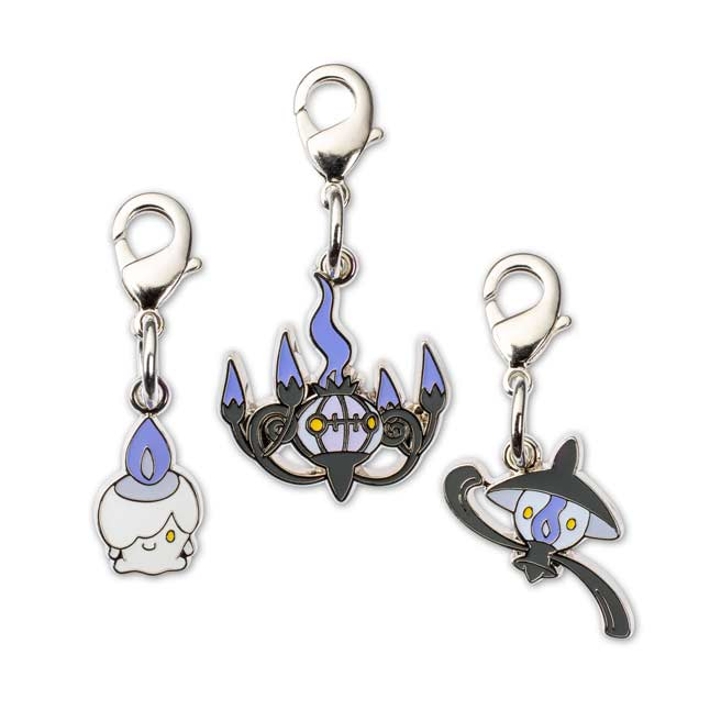 Image for Litwick Lampent Chandelure Pokémon Minis (Evo 3 Pack) from Pokemon Center