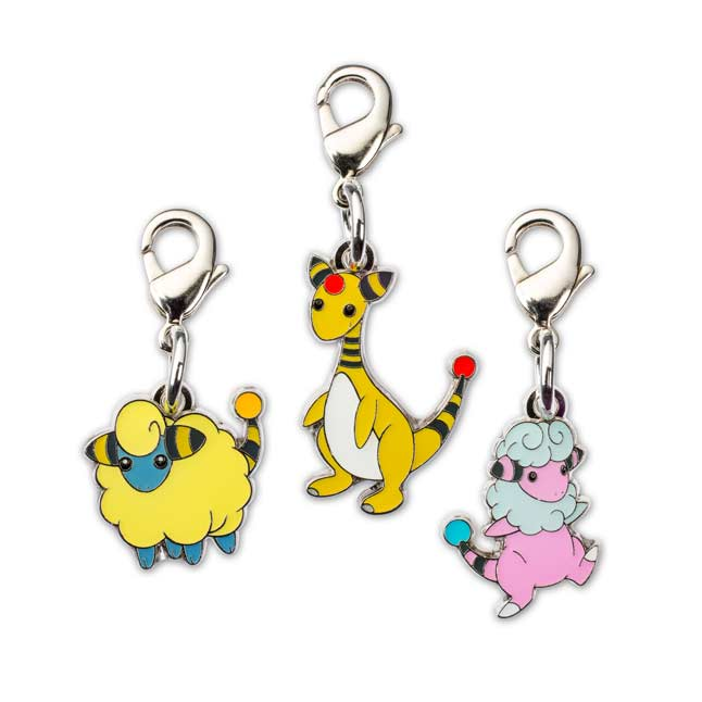 Image for Mareep Flaaffy Ampharos Pokémon Minis (Evo 3 Pack) from Pokemon Center