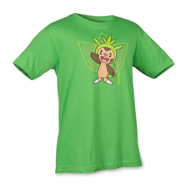 Image for Chespin Short Sleeve Relaxed Fit Crewneck T-Shirt from Pokemon Center