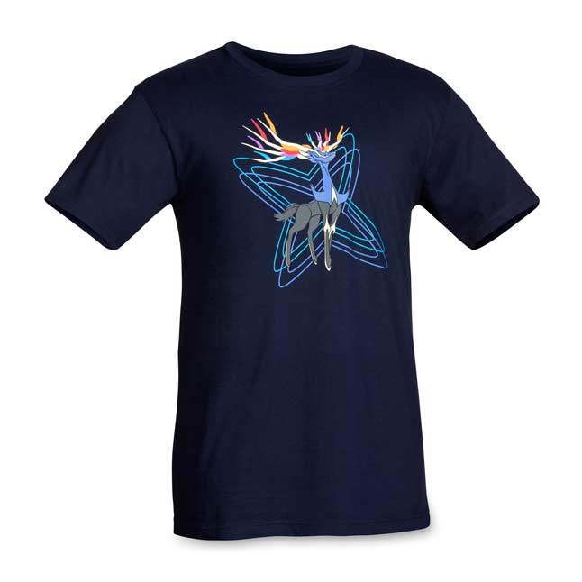 Image for Xerneas Navy Relaxed Fit Crewneck T-Shirt from Pokemon Center