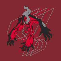 Image for Yveltal Short-Sleeve Relaxed Fit Crewneck T-Shirt from Pokemon Center