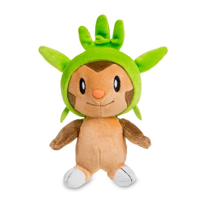 "Image for Chespin Poké Plush (Standard Size) - 8"" from Pokemon Center"