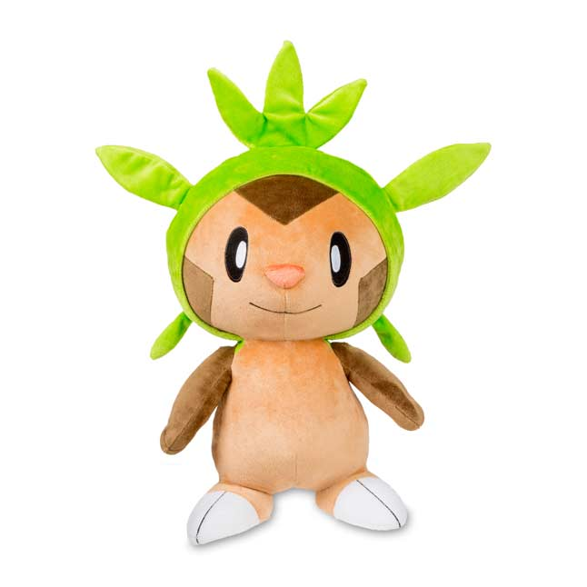 "Image for Chespin Poké Plush (Trainer Size) - 19 1/2"" from Pokemon Center"