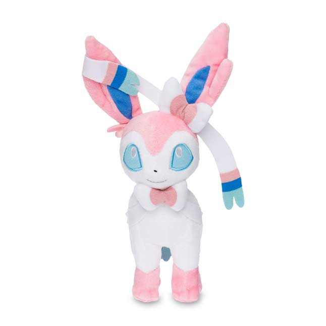 "Image for Sylveon Poké Plush (Standard Size) - 9 1/4"" from Pokemon Center"