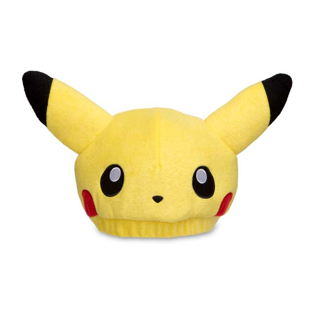Image for Pikachu Poké Plush Hat from Pokemon Center
