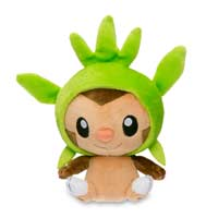Chespin Poké Doll Plush (Standard Size) - 6 In.