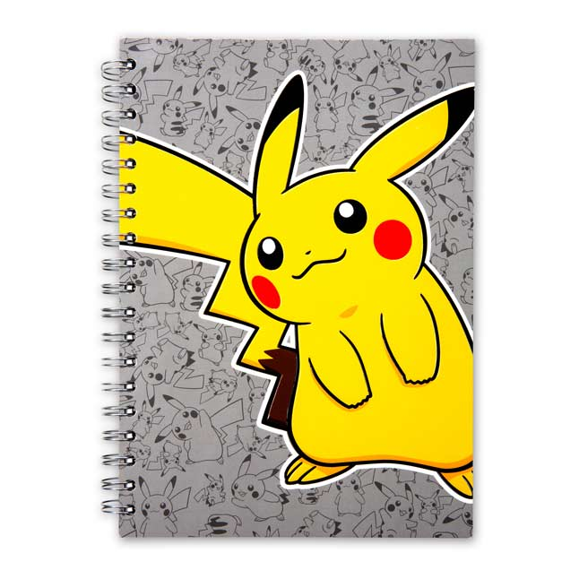 Image for Pikachu Spiral Notebook (200 Pages) from Pokemon Center