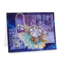 Image for Espurr & Meowstic Wanted Notecard Set (12 cards, envelopes, and seals) from Pokémon Center