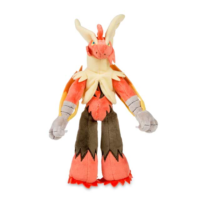 "Image for Mega Blaziken Poké Plush (Large Size) - 10 1/2"" from Pokemon Center"