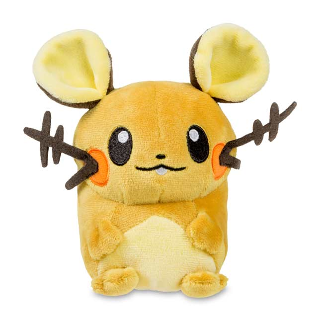 "Image for Dedenne Poké Doll Plush (Standard Size) - 5 1/2"" from Pokemon Center"