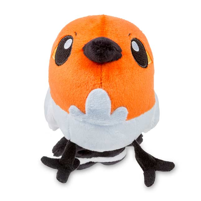 "Image for Fletchling Poké Doll Plush (Standard Size) - 4 1/2"" from Pokemon Center"