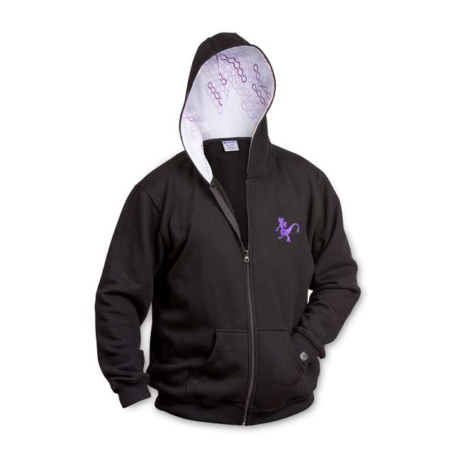 Image for Mewtwo Genetic Relaxed Fit Hoodie from Pokemon Center