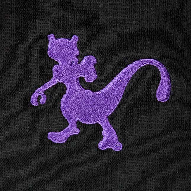 Image for Mewtwo Genetic Relaxed Fit Hoodie from Pokémon Center