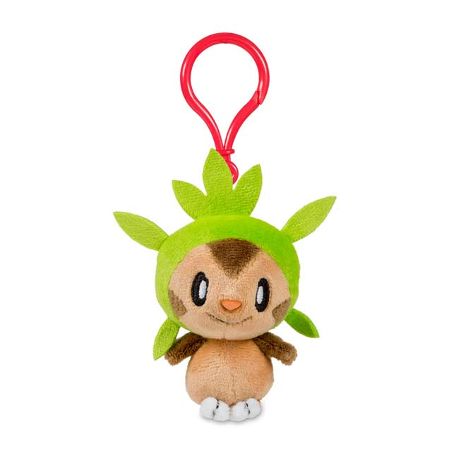 Image for Chespin Pokémon Petit Plush Keychain from Pokemon Center