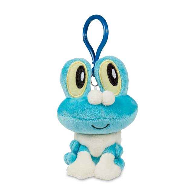 Image for Froakie Pokémon Petit Plush Keychain from Pokemon Center