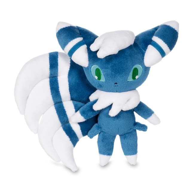 "Image for Meowstic Male Poké Plush (Standard Size) - 7 3/4"" from Pokemon Center"