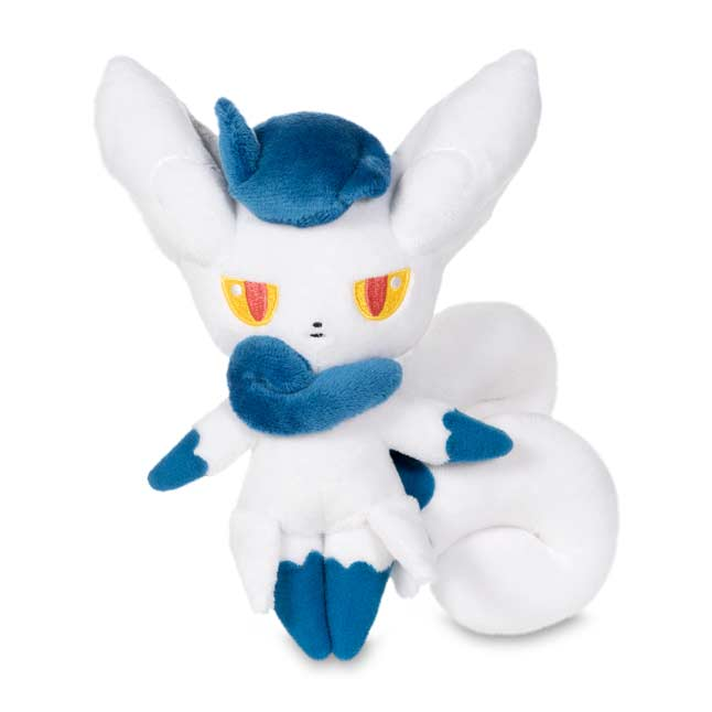 "Image for Meowstic Female Poké Plush (Standard Size) - 7 1/4"" from Pokemon Center"