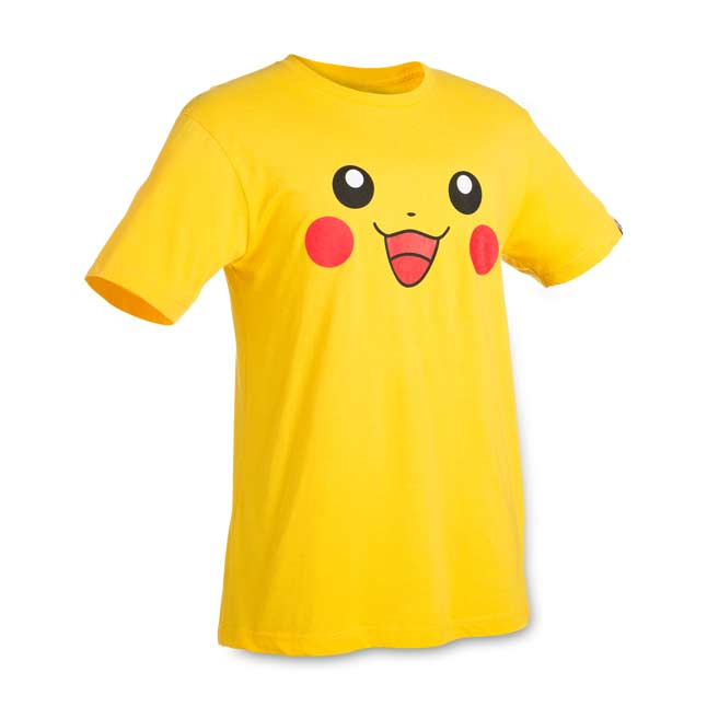 Image for Pikachu Big Face Relaxed Fit Crewneck T-Shirt from Pokemon Center