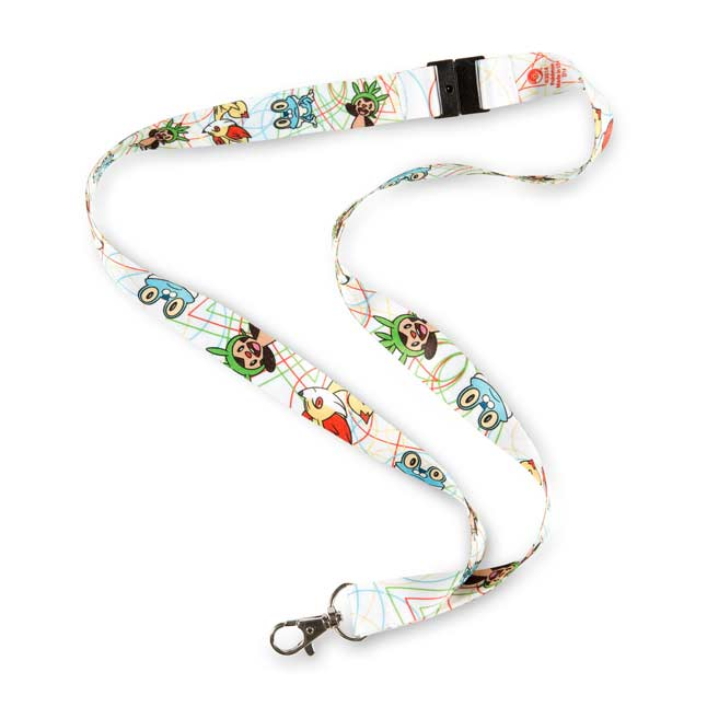 Image for Kalos Region Pokémon Lanyard from Pokemon Center