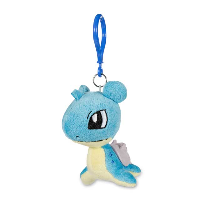 Image for Lapras Pokémon Petit Plush Keychain from Pokemon Center