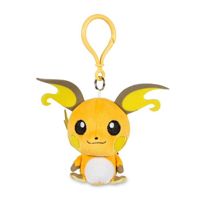 Image for Raichu Pokémon Petit Plush Keychain from Pokemon Center
