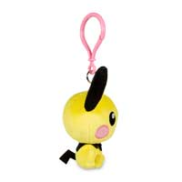 Image for Pichu Pokémon Petit Plush Keychain from Pokemon Center