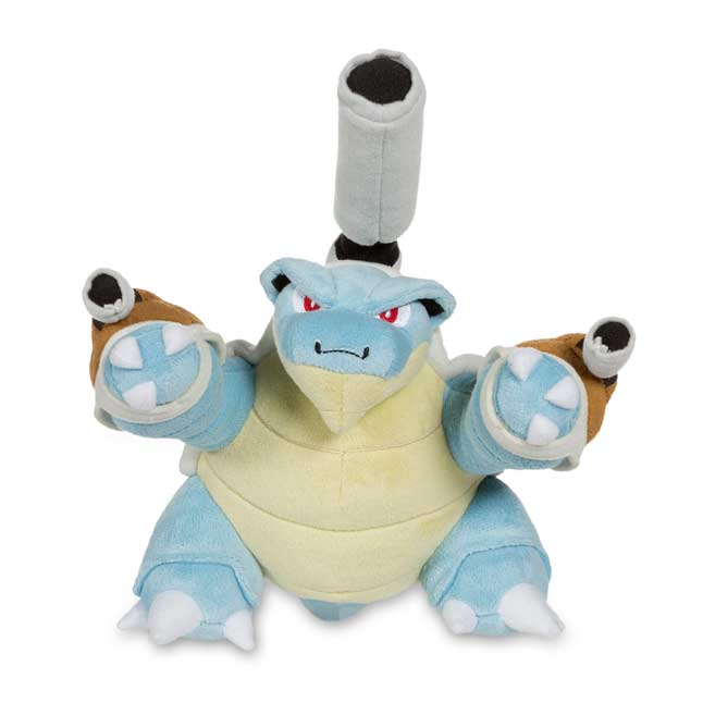 "Image for Mega Blastoise Poké Plush (Large Size) - 9 1/2"" from Pokemon Center"
