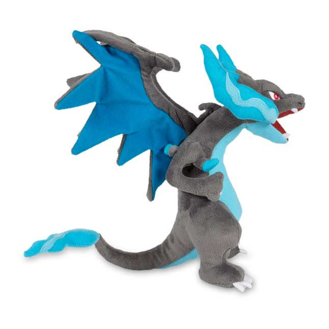 Image for Mega Charizard X Poké Plush (Large Size) - 10 1/2 In. from Pokemon Center