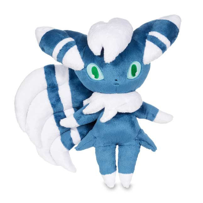 "Image for Meowstic Male Poké Plush (Trainer Size) - 17 1/2"" from Pokemon Center"
