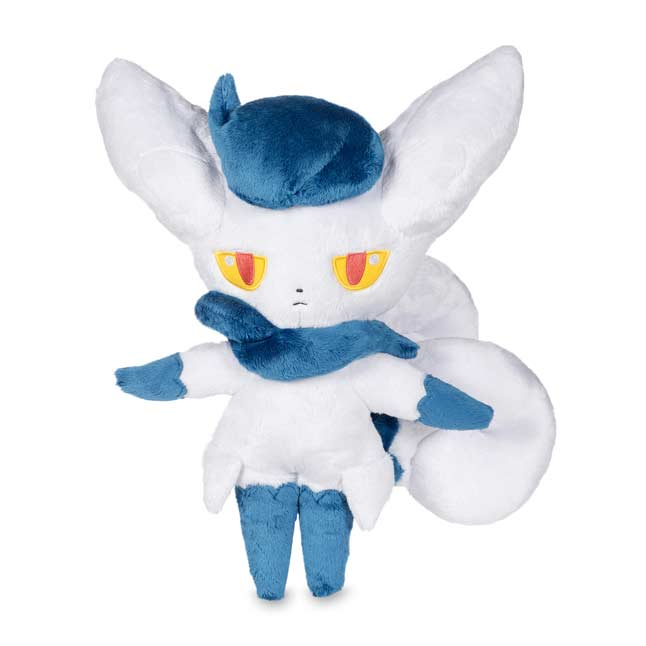 "Image for Meowstic Female Poké Plush (Trainer Size) - 17 1/2"" from Pokemon Center"