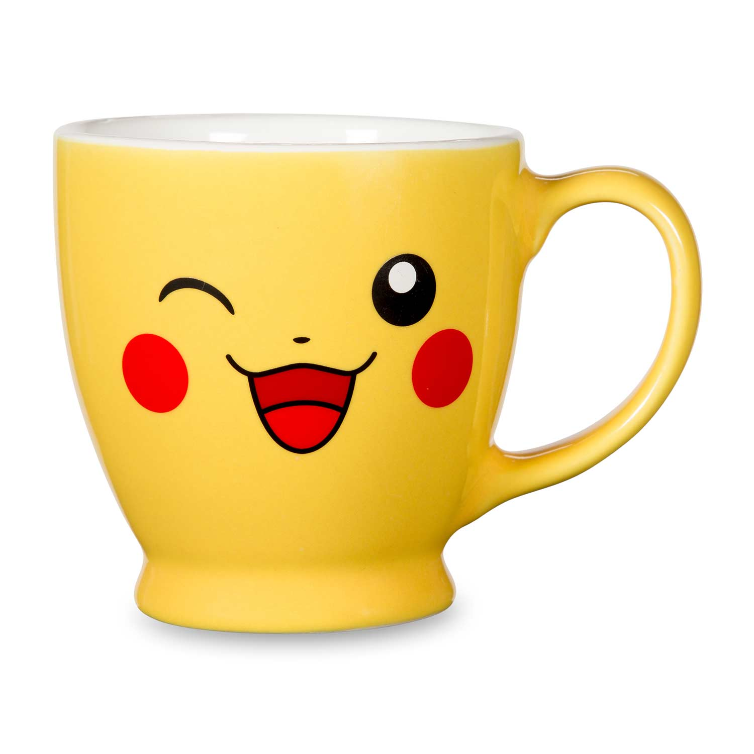 pikachu 12 oz mug big face made in usa pok mon center original. Black Bedroom Furniture Sets. Home Design Ideas