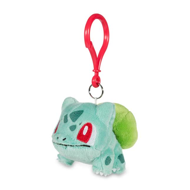 Image for Bulbasaur Pokémon Petit Plush Keychain from Pokemon Center