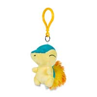 Image for Cyndaquil Pokémon Petit Plush Keychain from Pokemon Center
