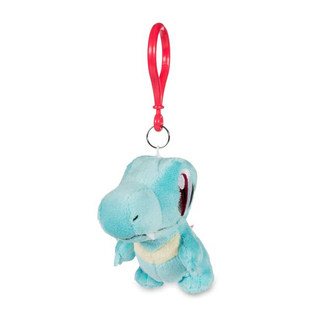 Image for Totodile Pokémon Petit Plush Keychain from Pokemon Center