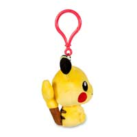 Image for Pikachu Pokémon Petit Plush Keychain from Pokemon Center