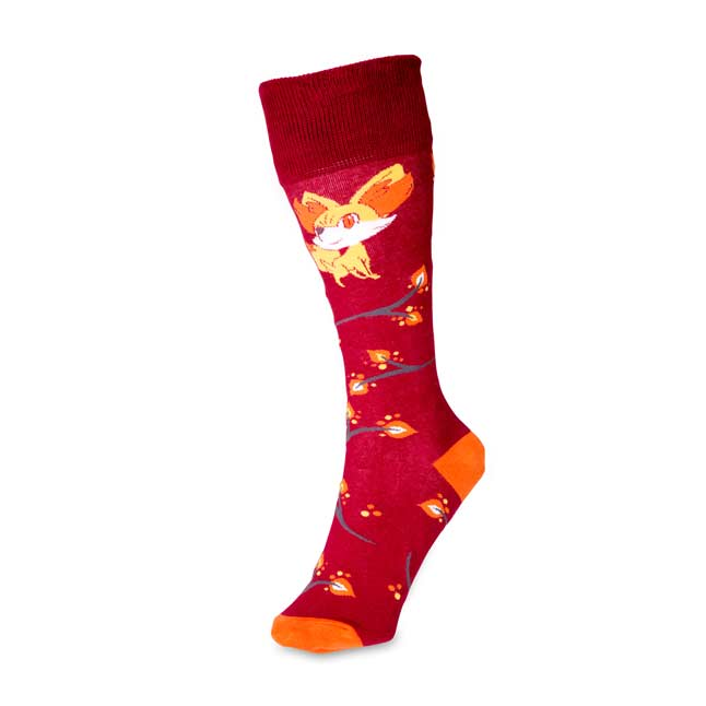 Image for Fall Fennekin Mid-Calf Socks (One Size-Adult) from Pokemon Center