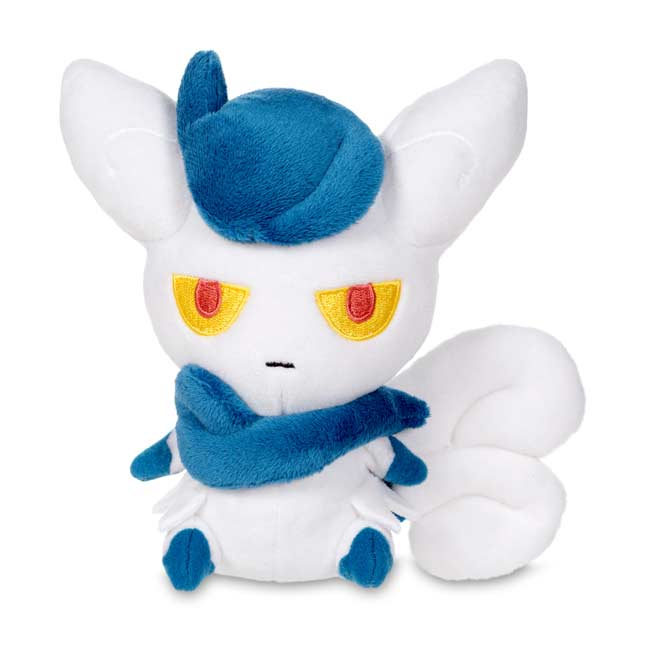"Image for Meowstic Female Poké Doll Plush (Standard Size) - 5 1/2"" from Pokemon Center"
