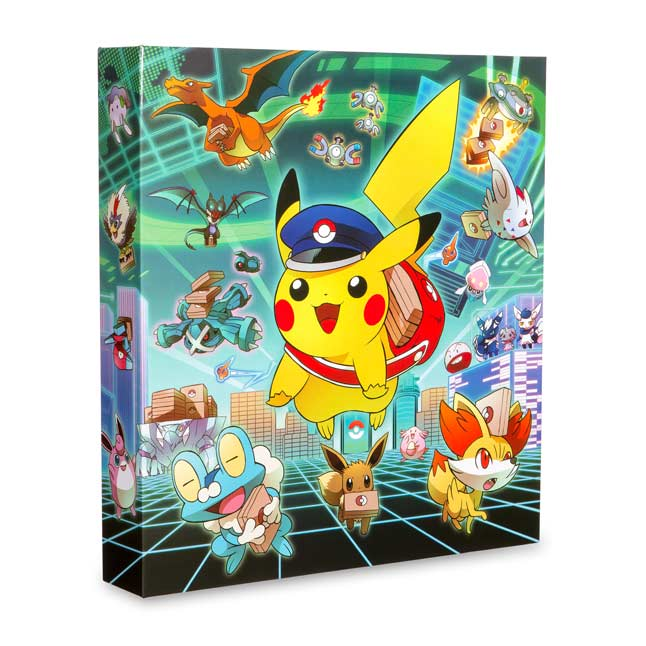 "Image for Special Delivery Pikachu 1"" D-Ring Binder from Pokemon Center"