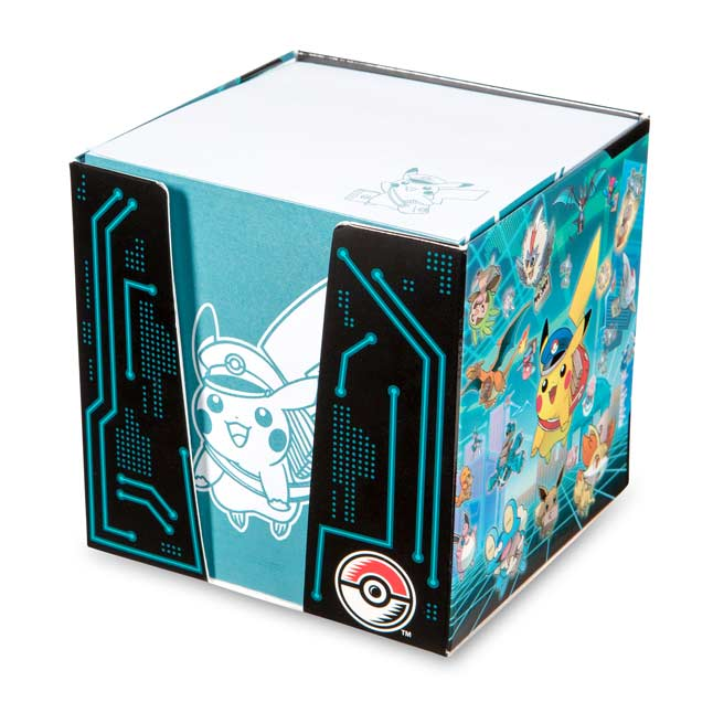 Image for Special Delivery Pikachu Notecube (675 Notes) from Pokemon Center