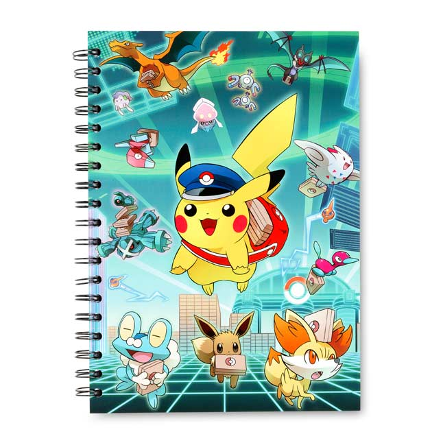 Image for Special Delivery Pikachu Spiral Notebook (200 Pages) from Pokemon Center