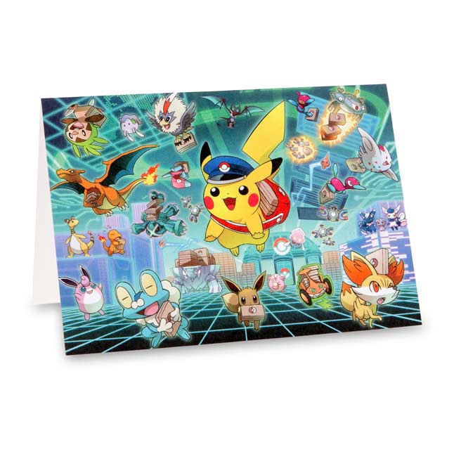 Image for Special Delivery Pikachu Note Card Set (10 Cards, Seals, and Envelopes) from Pokemon Center