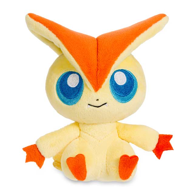 "Image for Victini Poké Doll Plush (Standard Size) - 6 1/4"" from Pokemon Center"