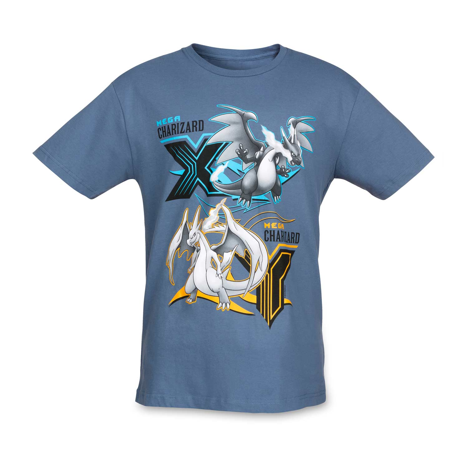 3df38224 Image for Mega Charizard X & Y Mega Evolutions Men's Fitted Crewneck T-shirt  from