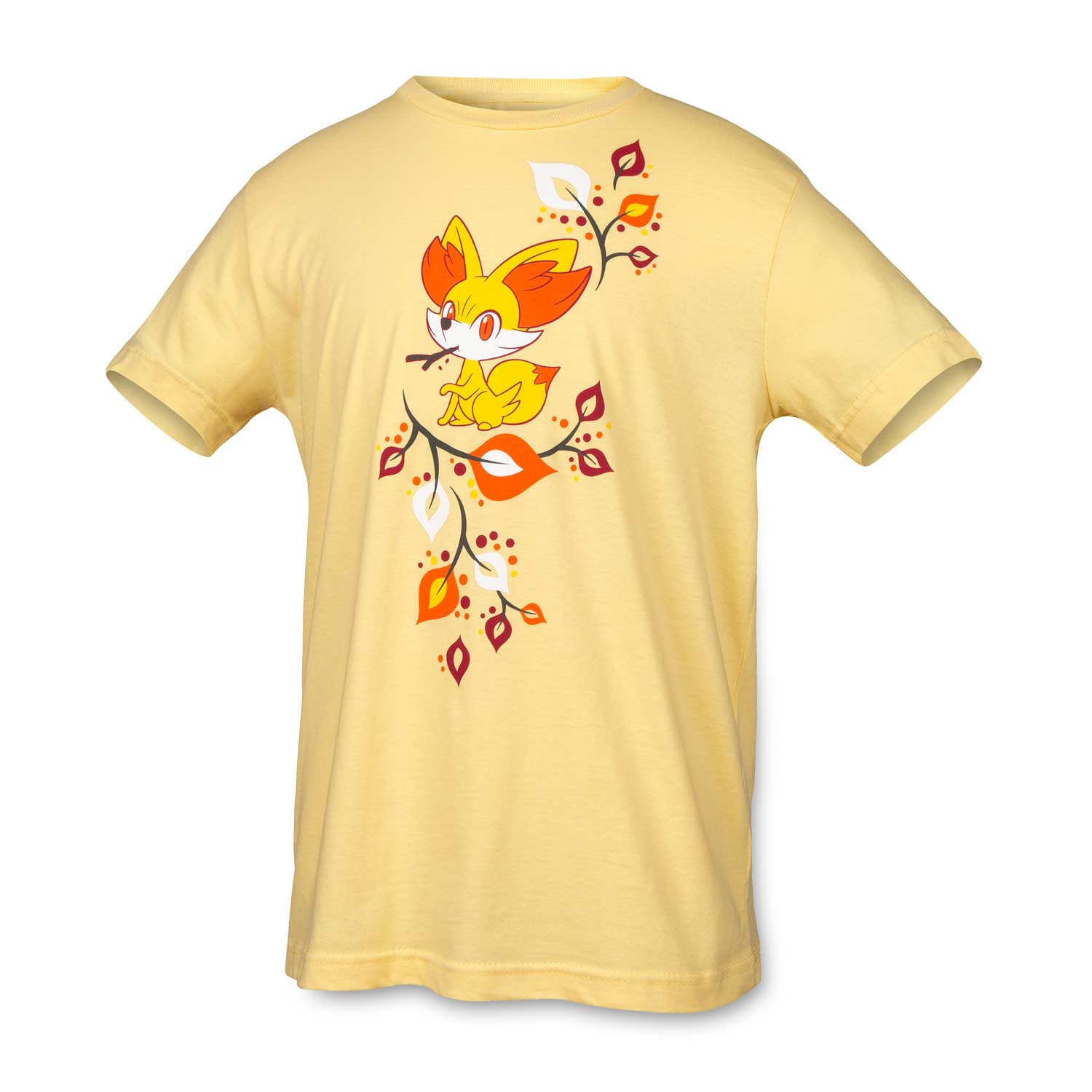 image for fall fennekin youth relaxed fit crewneck t shirt from pokemon center _5_3074457345618259663_3074457345618262057_3074457345618268656