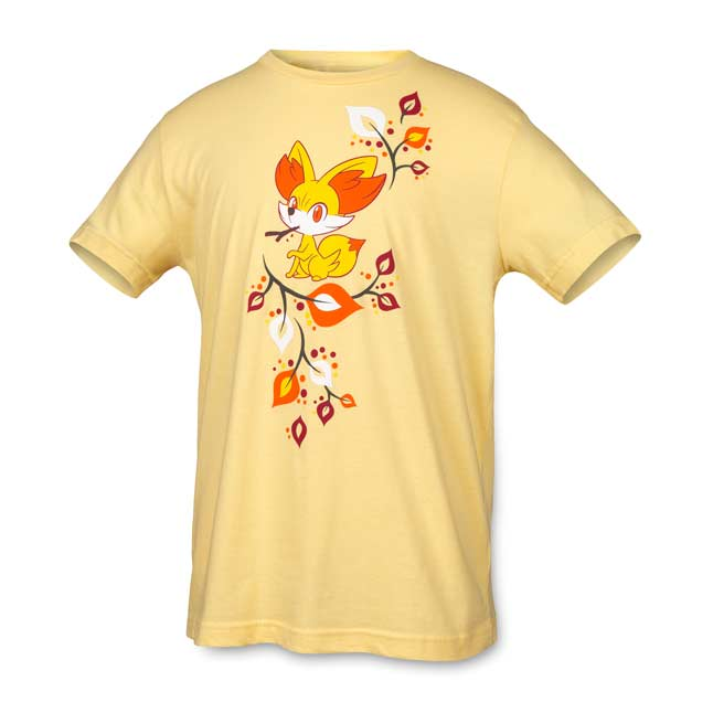 Image for Fall Fennekin Youth Relaxed Fit Crewneck T-shirt from Pokemon Center