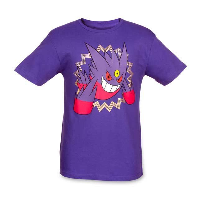 Image for Mega Gengar Mega Evolutions Men's Fitted Crewneck T-Shirt from Pokemon Center